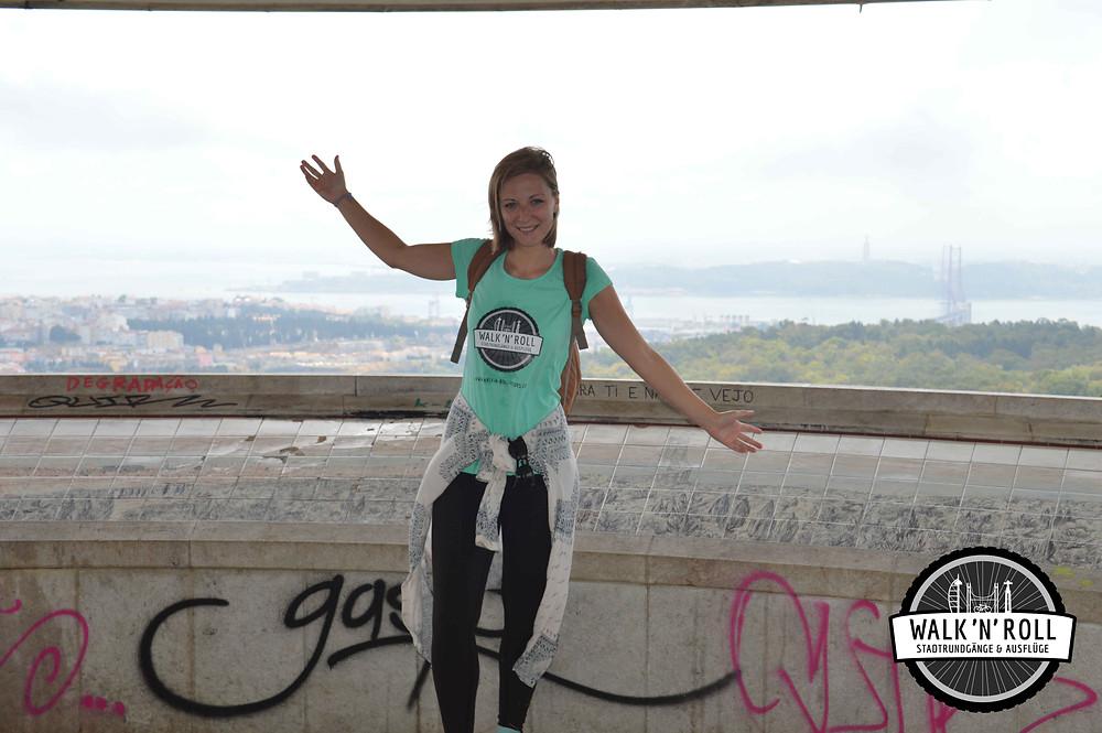Melina, deutsche Stadtführerin in Lissabon