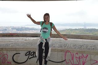 Wanderung in Lissabon