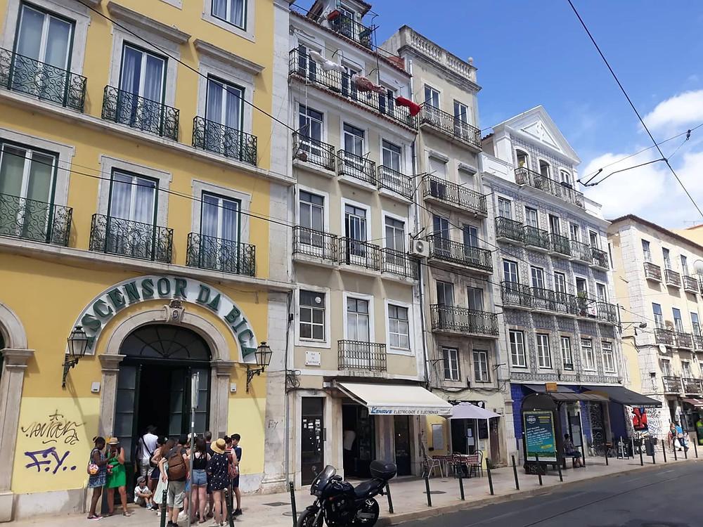 Elevador da Bica Lissabon