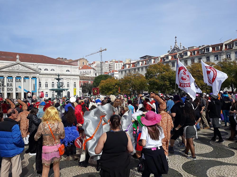 Karneval in Lissabon