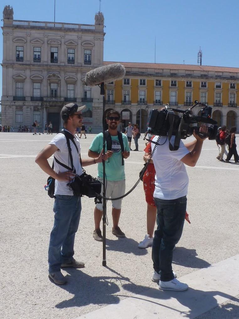 Stadtführer Pedro in Lissabon bei hallo deutschland