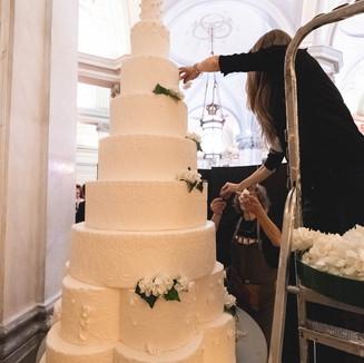 Cake decoration by Pierino Penati