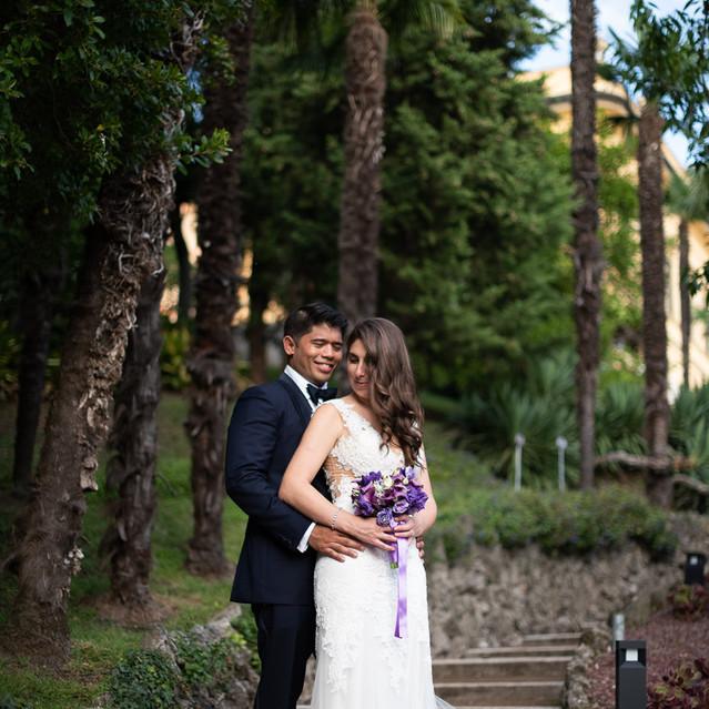 Bride and Groom on Lake Como (ph. Francesco Brunello)