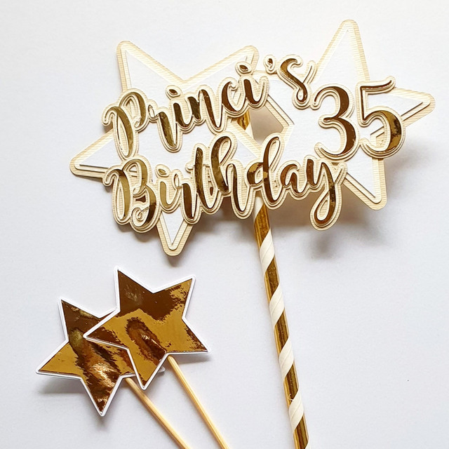 Giovanna Bettega - cake topper 35 comple