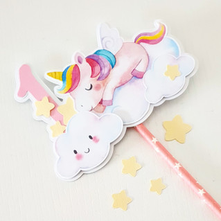 Giovanna Bettega - unicorno cake topper.