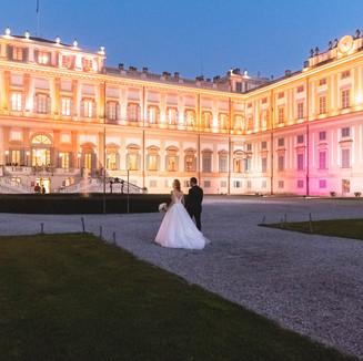 Villa Reale - sposi (ph. Michele dell'Utri)