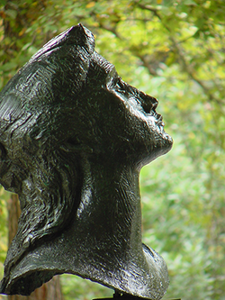 Muse II (head detail)
