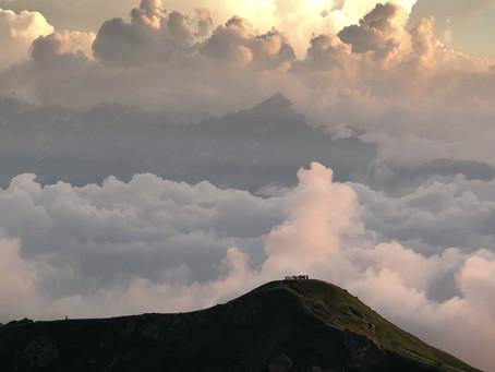 灼熱の白馬岳