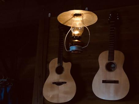 ランプとギターの宿
