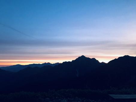 立山と大日三山
