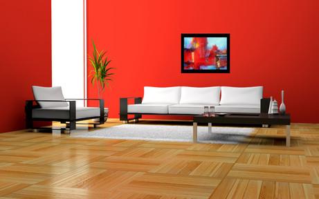 Installation - living room