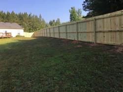 wood fence athens