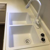 new sink install