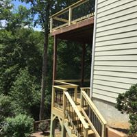 double deck repair and stair install