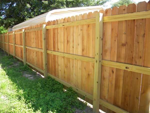 basic privacy fence