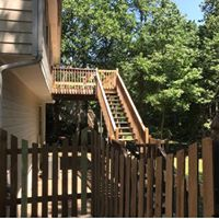 deck and fence pressurewash