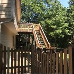 deck and fence pressurewash