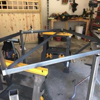 fabrication on custom pizza stand