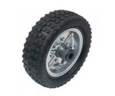 250x80 Solid Rubber Steel Wheel
