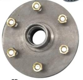 6 Stud TLC Hub CW Wheel Nuts