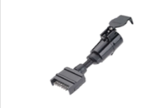 7 Pin Flat to 7 Pin Round Adaptor