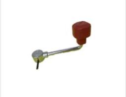 Jockey Wheel Handle CW Roll Pin