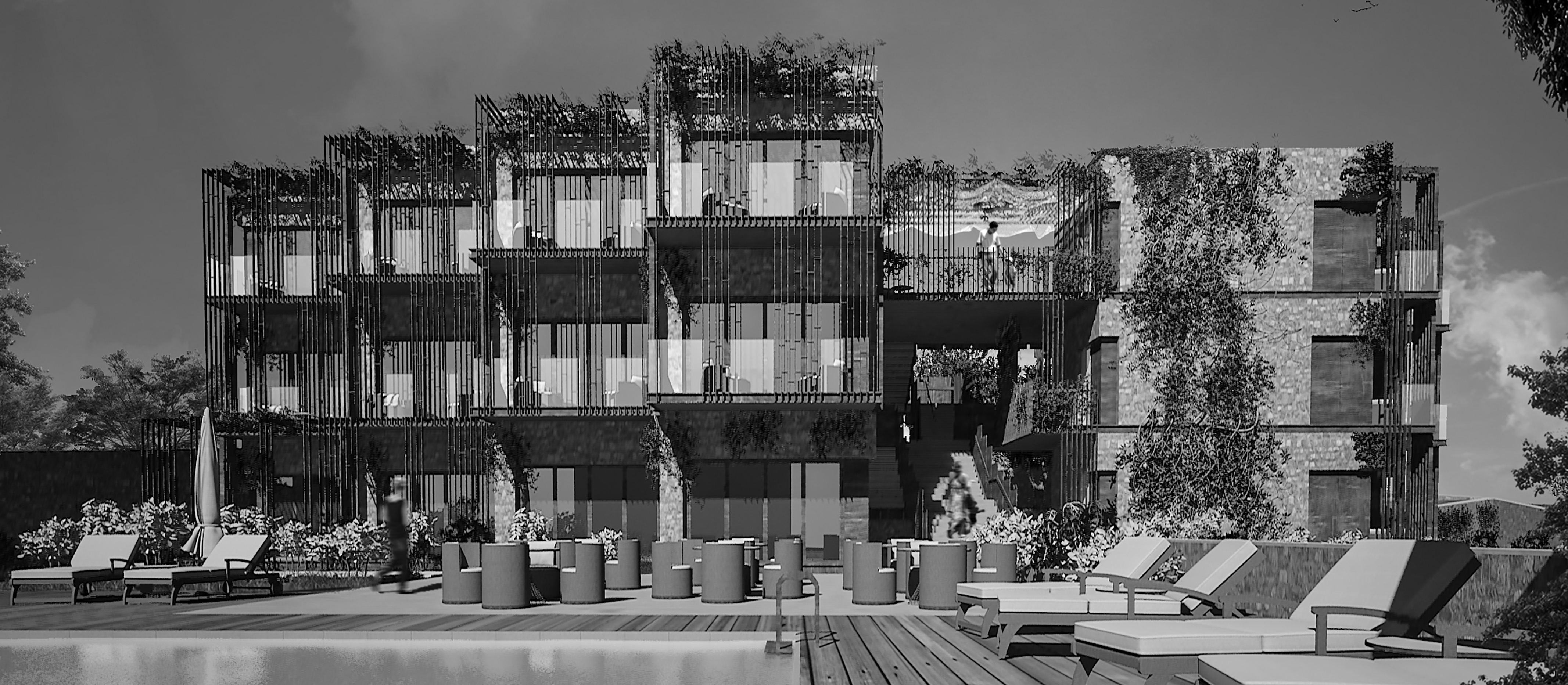 Boutique Hotel Architectural Concept