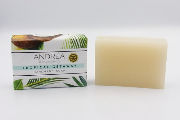 Tropical Getaway Handmade Soap