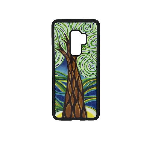 Samsung Galaxy S9 phone case - Green Tree