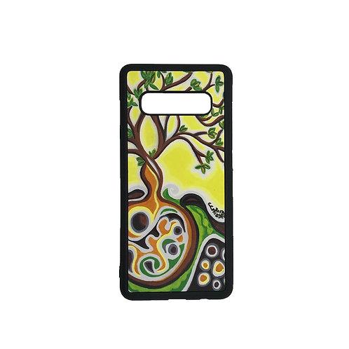 Samsung Galaxy S10e phone case - Yellow Tree