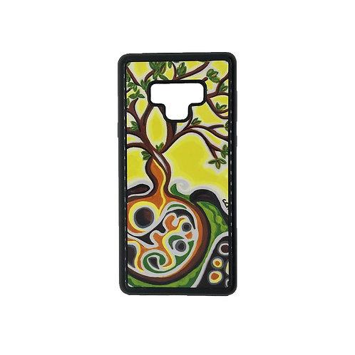 Samsung Galaxy Note 9 phone case - Yellow Tree