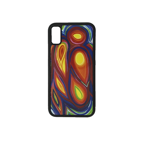 iPhone X phone case - Guardian Angel