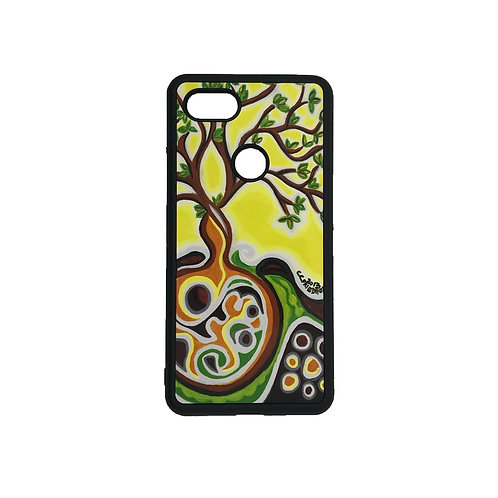 Pixel 3 phone case - Yellow Tree