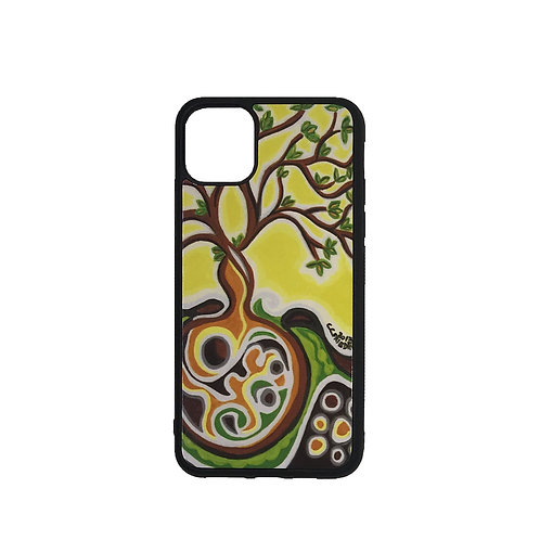 iPhone 11 phone case - Yellow Tree