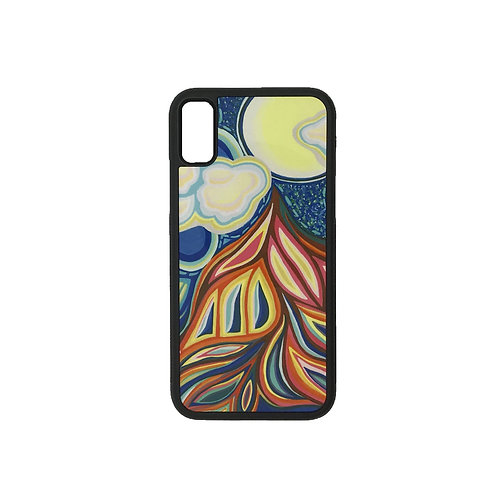 iPhone X phone case - Pull of the Moon