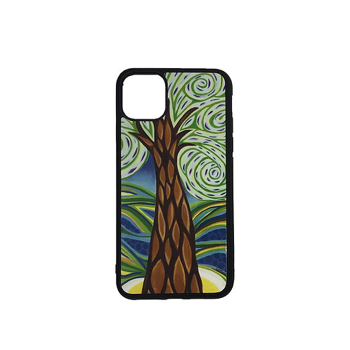 iPhone 11 Pro Max phone case - Green Tree
