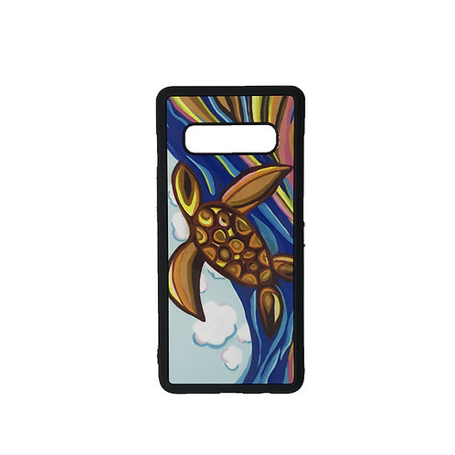 Samsung Galaxy S10+ phone case - Turtle Season