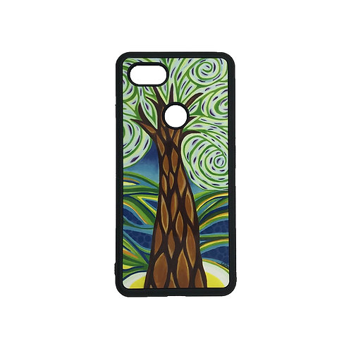 Pixel 3 XL phone case - Green Tree