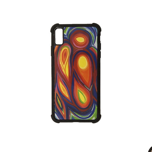 iPhone X Max phone case - Guardian Angel