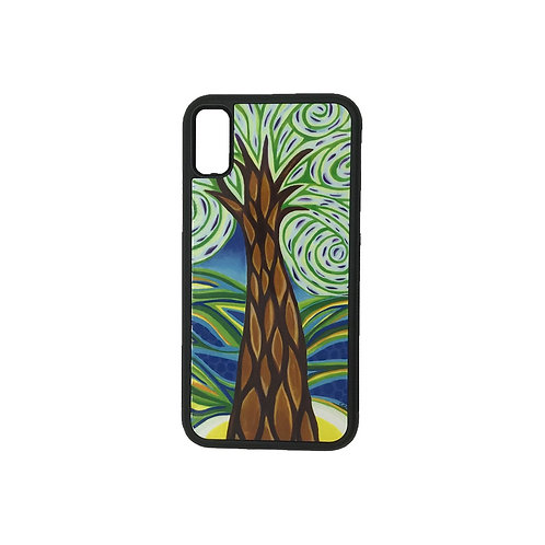 iPhone X phone case - Green Tree
