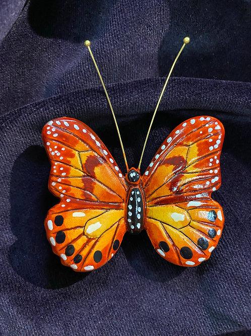 Monarch in orange