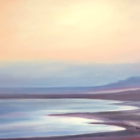 Sunrise over the dead sea 3