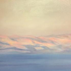 Sunrise over the dead sea 4