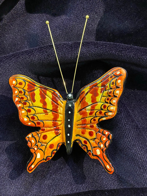 swallow tail in orange