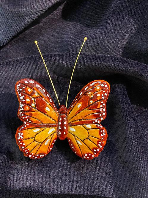 Monarch in fuchsia