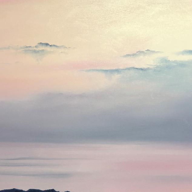 Sunrise over the dead sea 1