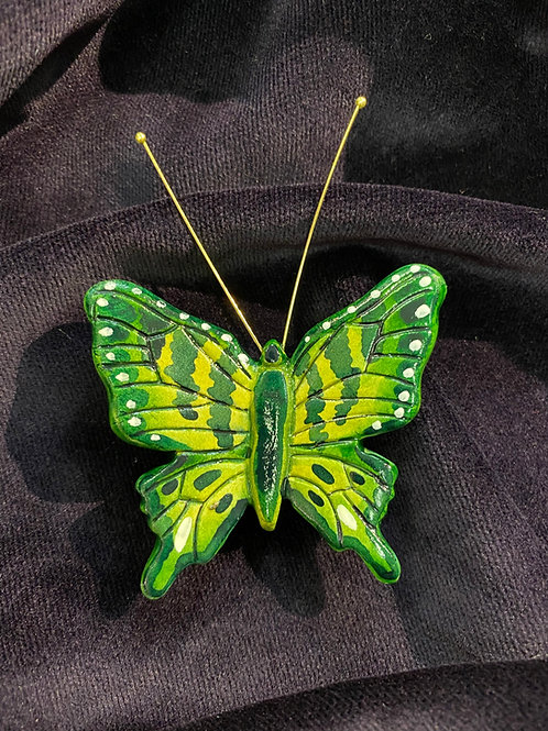 Swallow tail in green