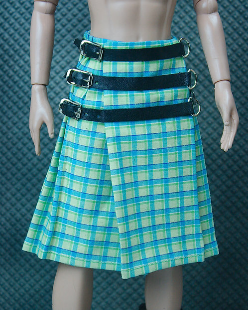 Yellow and green kilt