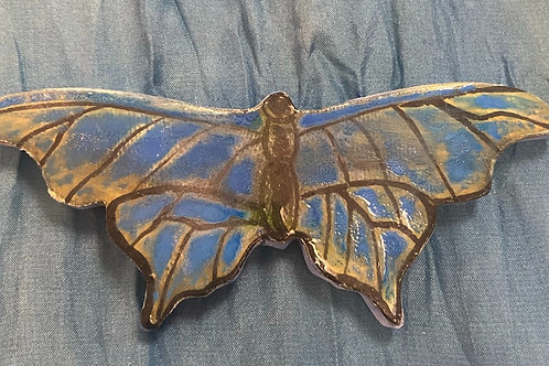 Blue turq butterfly