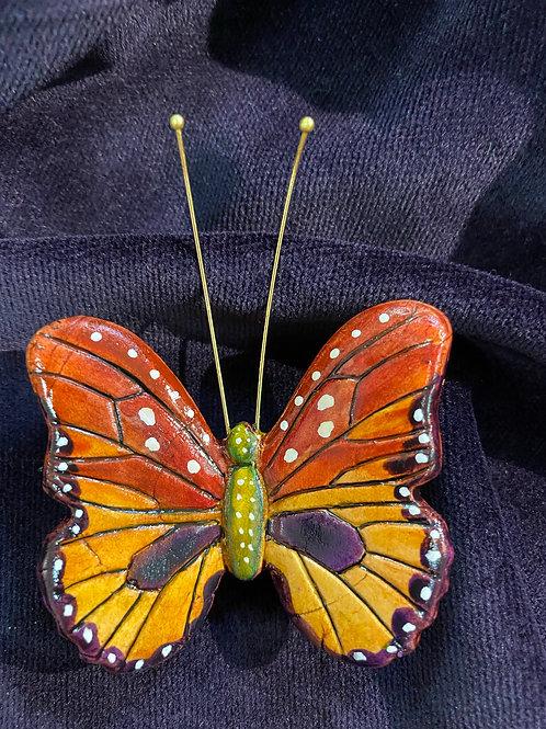 Monarch in purple